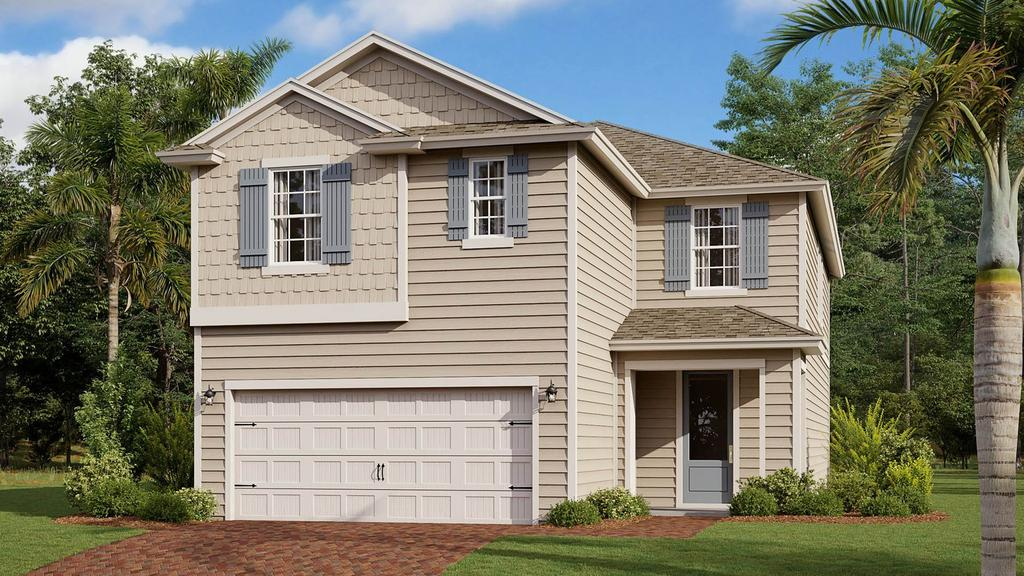 Garage featured at 175 Silverleaf Village Dr, Saint Augustine, FL 32092